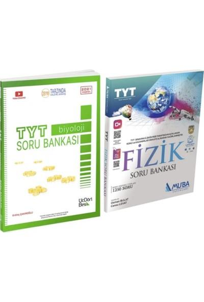 Üç Dört Beş Yayınları TYT Biyoloji Soru Bankası + Muba Fizik TYT Soru Bankası
