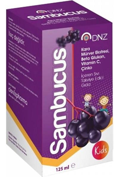 Deniz Pharma Dnz Sambucus Kids 125 ml Kara Mürver Ekstresi