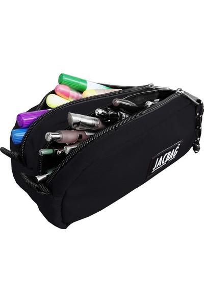 Jacbag Dual Pouch Pencil Case-Çift Bölmeli Kalemkutu