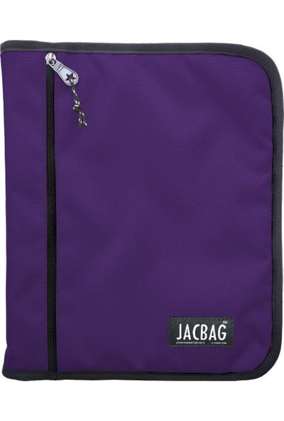 Jacbag Zıpped Fıle Bag A4 -Fermuarlı Dosya Çanta A4