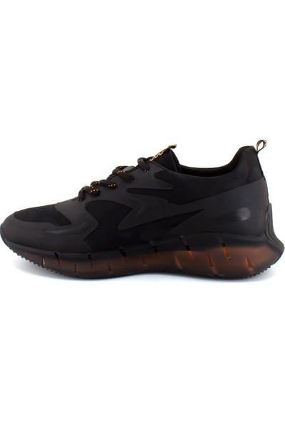 Scootland 12532 Erkek Deri Günlük Ayakkabı Siyah