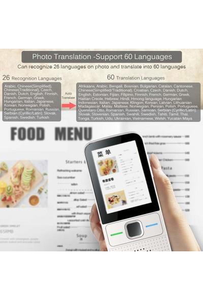 Ivor Dokunmatik Ekran Çevrimiçi ve Çevrimdışı Tercüman Cihazı (137 Dil) (Yurt Dışından)