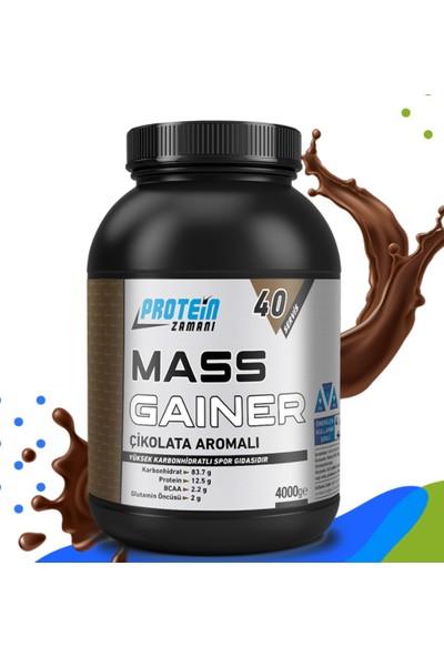 Protein Zamanı Mass Gainer Karbonhidrat Tozu 4000 gr 40 Servis Çikolata
