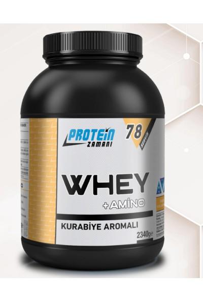 Protein Zamanı Whey Protein Tozu + Amino 2340 gr 78 Servis