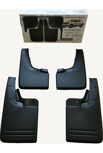 Rich Volswagen Amarok Çamurluk Paçalık Tozluk 4 Lü Set