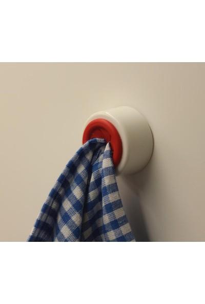Evimsan 4'Lü Havlu Tutucu - Havlu Askısı - - Mutfak Askısı - Banyo Askısı