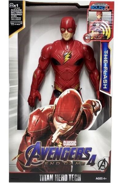 Yeni Sepetim Avengers Sesli Flash Figür Oyuncak - 8818-5-FLASH