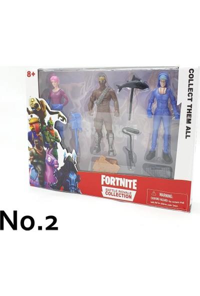 Yeni Sepetim Fortnite 3'lü Figür Seti - 9007-9