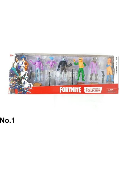 Yeni Sepetim Fortnite Figür Seti - 9013-15