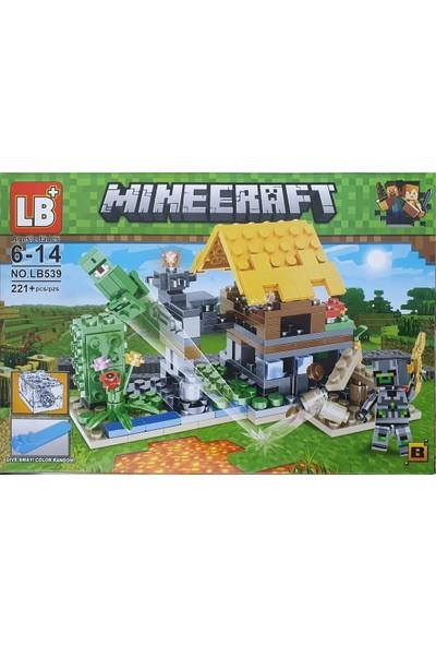 Yeni Sepetim Minecraft My World 221 Parça LEGO Seti - LB539-A