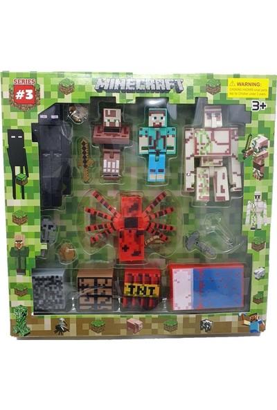 Yeni Sepetim Minecraft Figür Seti - W15037