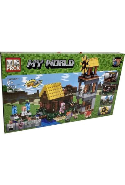 Yeni Sepetim LEGO Seti Minecraft My World Dev Boy 608 Parça - 63031