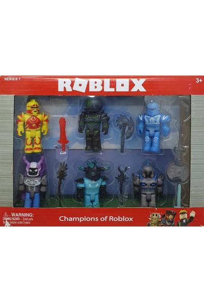 Yeni Sepetim Roblox 6 Lı Karakter Seti - 320623