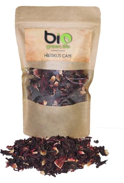 Biogreenlife Hibiskus Çayı, Bamya Çiçeği, Nar Çiçeği, Ekşi Çay 150 gr