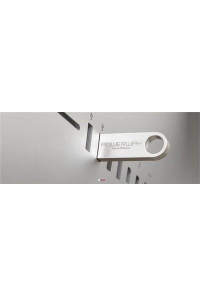 Powerway 32 GB Metal USB Flash Bellek