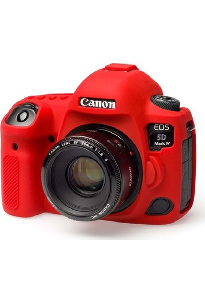 Dp Canon 5dmark Vı Silikon Kılıf Kırmızı