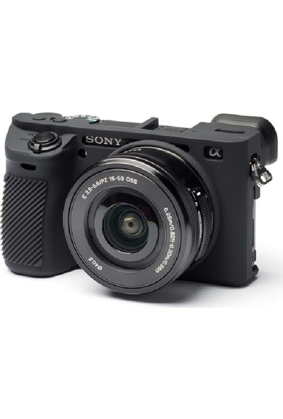 Dp Sony A6300 Silikon Kılıf Siyah