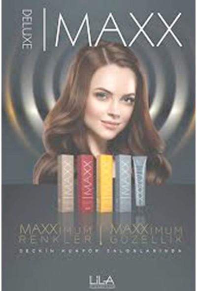 Maxx Deluxe Saç Boyası Küllü Açık Kumral-8/1+Oksidan x 3
