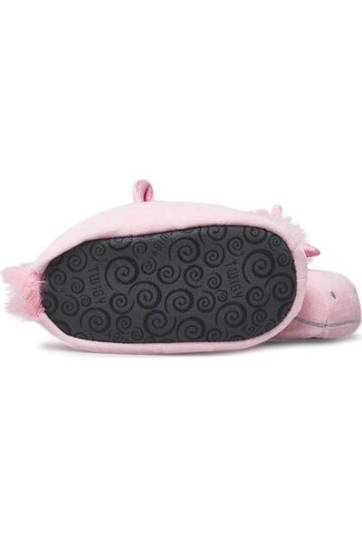 Twigy Tw Pinky Sessiz Taban Panduf Kız Çocuk Panduf TT0858 Cf Pembe 32-33