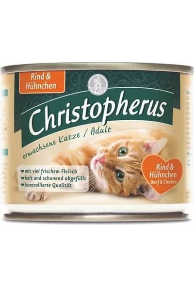 Christopherus Fleishmahlze Kümes Hayvanlı Kedi Konservesi 200 gr