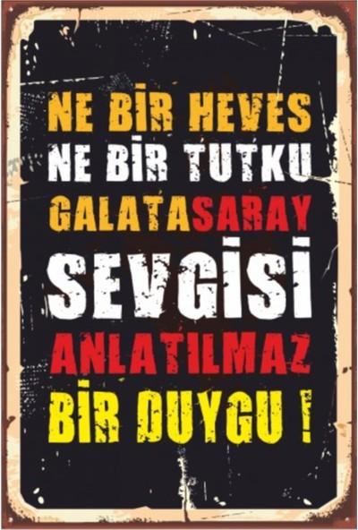 Sese Concept Galatasaray 20X30 cm Duvar Tablo VPT00028096