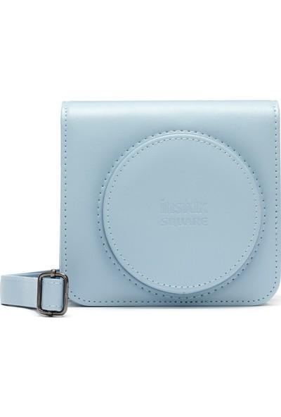 Fujifilm Instax Sq1 Deri Çanta Buz Mavi