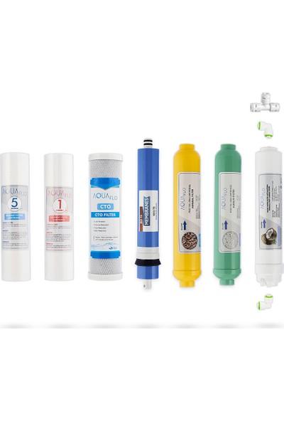 Milsuart Açık Kasa Su Arıtma Cihazı 7li Filtresi Standart Membranlı Set