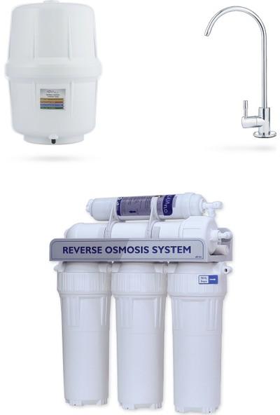 Milsuart Mil Su5 Aşamalı Açık Kasa Su Arıtma Cihazı (MNP5-P-S)