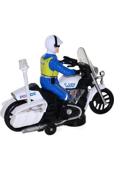 Can İthalat Sesli ve Işıklı Polis Motoru
