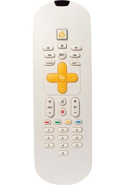 Turkcell SNR1280 Tv Plus Orjınal Klavyeli Kumanda
