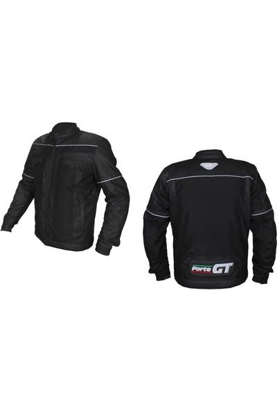 Forte Gt 1071 Street Deri ve Condura Motosiklet Montu Siyah Yeni Sezon