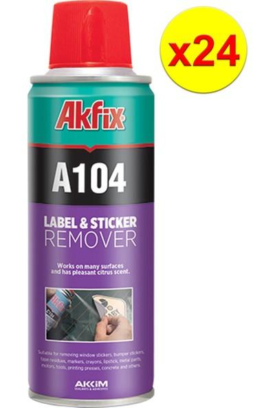 Akfix A104 Etiket Sökücü Sprey 200 ml