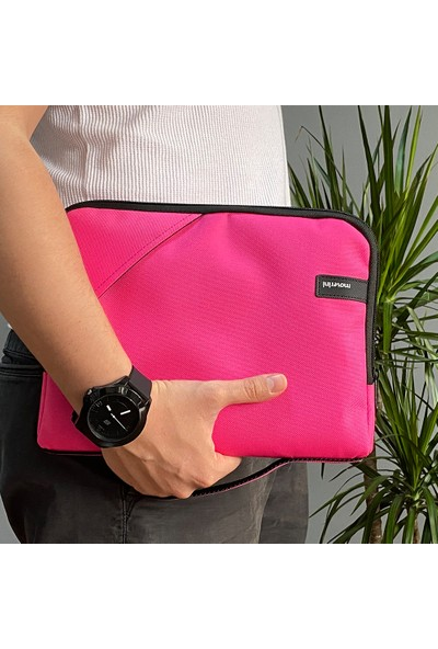 Moserini Samsung Galaxy Tab S6 Lite P610 P617 (10.4 inç) Smart Slim Fuşya Tablet Çantası + Turkuaz Dönerli Kılıf + Kalem