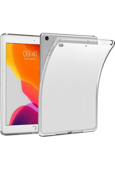 "Esepetim Apple iPad 8. Nesil Silikon Tablet Kılıfı (10.2"") A2270, A2428, A2429, A2430 Şeffaf"