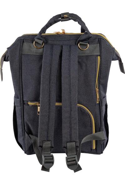 The Kangaroo Bag Gri Hafif Simli Luxury
