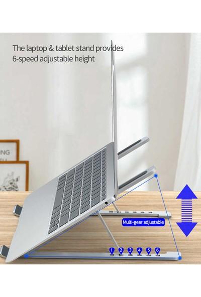 Vendas 6 Kademeli Yükseklik Ayarlanabilir S400A Laptop Standı