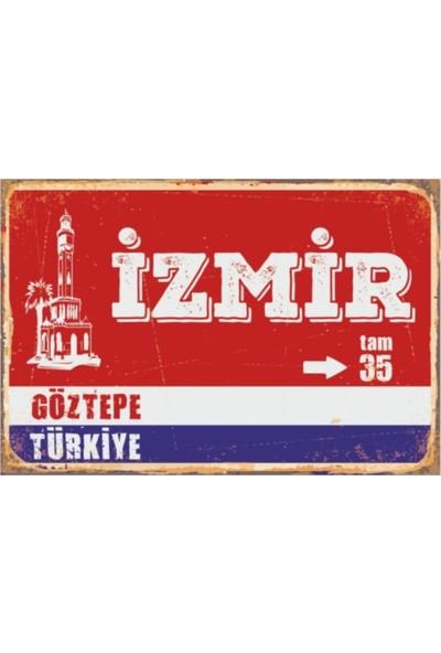 Sese Concept Izmir Tabela 20X30 cm Duvar Tablo VPT00028110