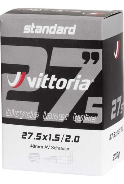 Vittoria Standard 27.5x1.50/2.0 Schrader 48MM Iç Lastik
