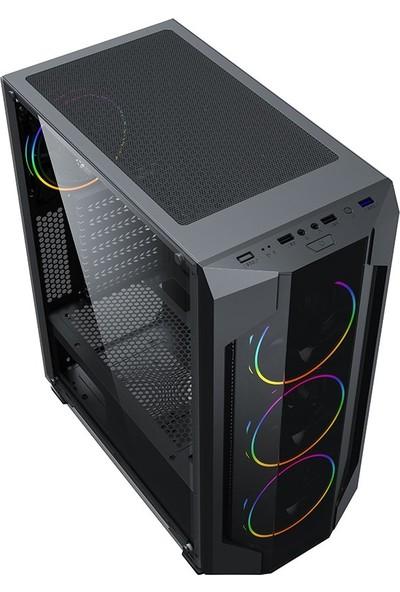 Turbox Ahri Rainbow LED Fan USB 3.0 Gaming Oyuncu Bilgisayar Kasası