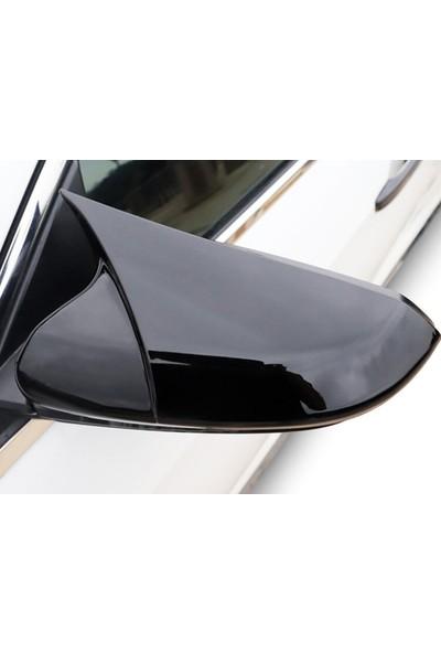Omsa Fiat Linea Yarasa Ayna Kapağı Siyah Abs 2007-2015