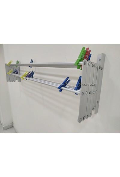 Compact Çamaşır Kurutma Askısı Yeni Nesil 7 Metre Askı Alanı