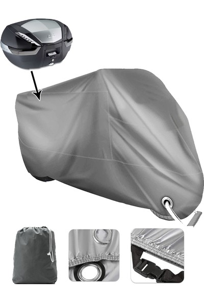 Coverplus Bmw R 1200 Gs Adventure Vinleks Motor Brandası Arka Çanta Uyumlu