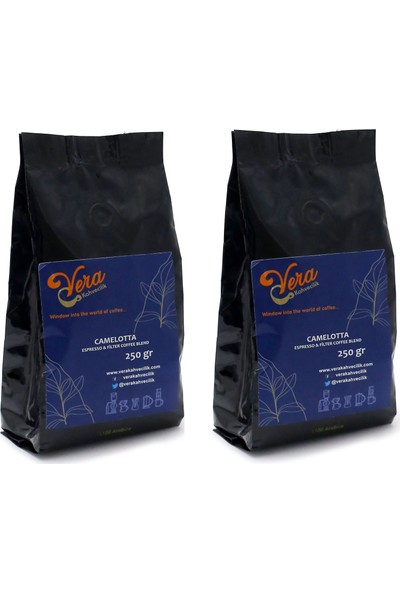 Vera Kahvecilik Camelotta Blend Filtre Kahve 500 gr (French Press)