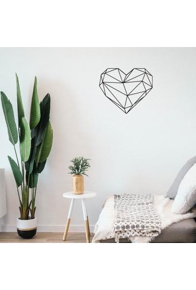 Omart Design Kalp Metal Duvar Aksesuarı