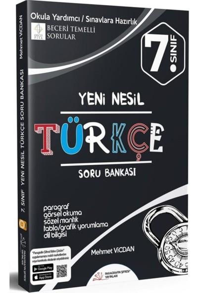 Paragrafın Şifresi Yayınları 7. Sınıf Türkçe Soru Bankası