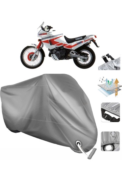 Autoen Yamaha Xtz 750 Super Tenere Vinleks Motor Brandası Arka Çanta Uyumlu