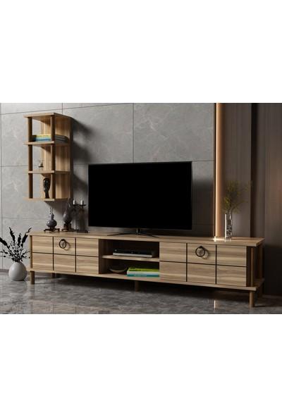 Ayaz Home Lotus Tv Ünitesi Ceviz