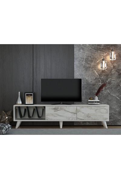 Ayaz Home Ideal Tv Ünitesi Beyaz