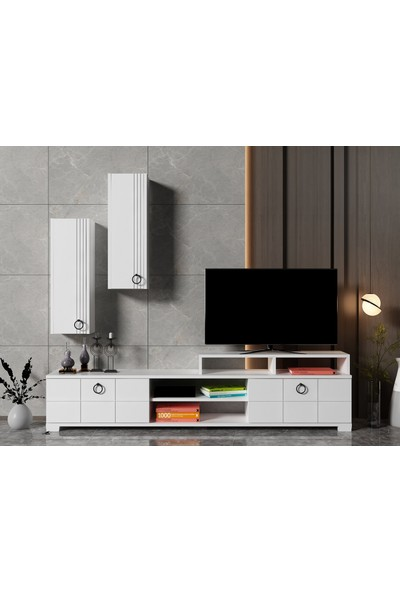 Ayaz Home Line Tv Ünitesi Beyaz