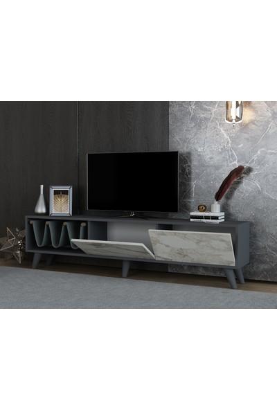 Ayaz Home Ideal Tv Ünitesi Antresit